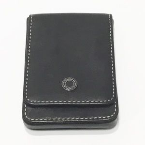 Coach Leather Business Card Holder